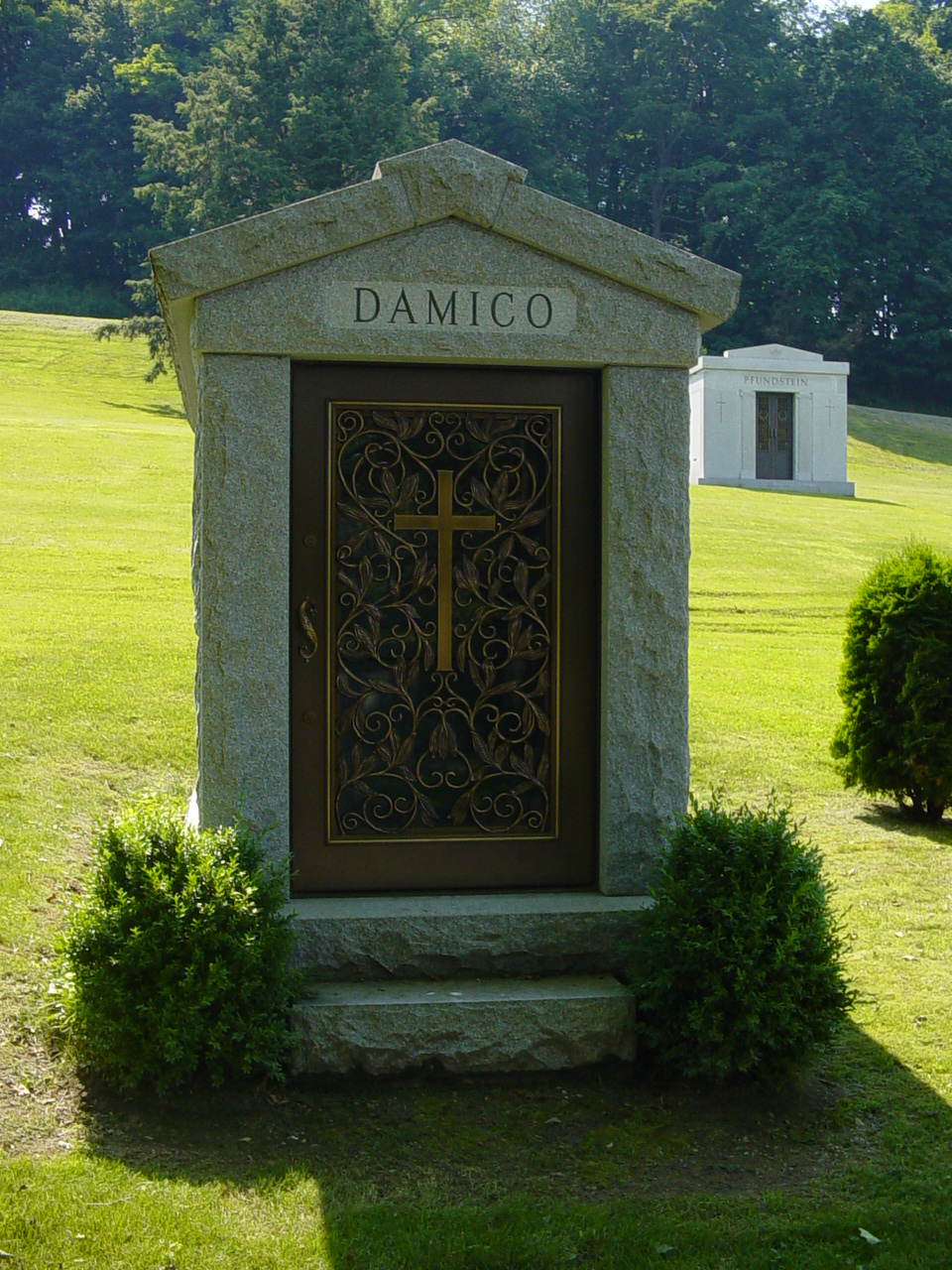 polchinski mausoleums Greenwich CT - D Amico Mausoleum