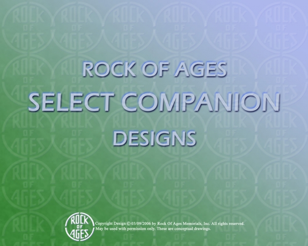 ROCK OF AGES Select Companion Designs 1